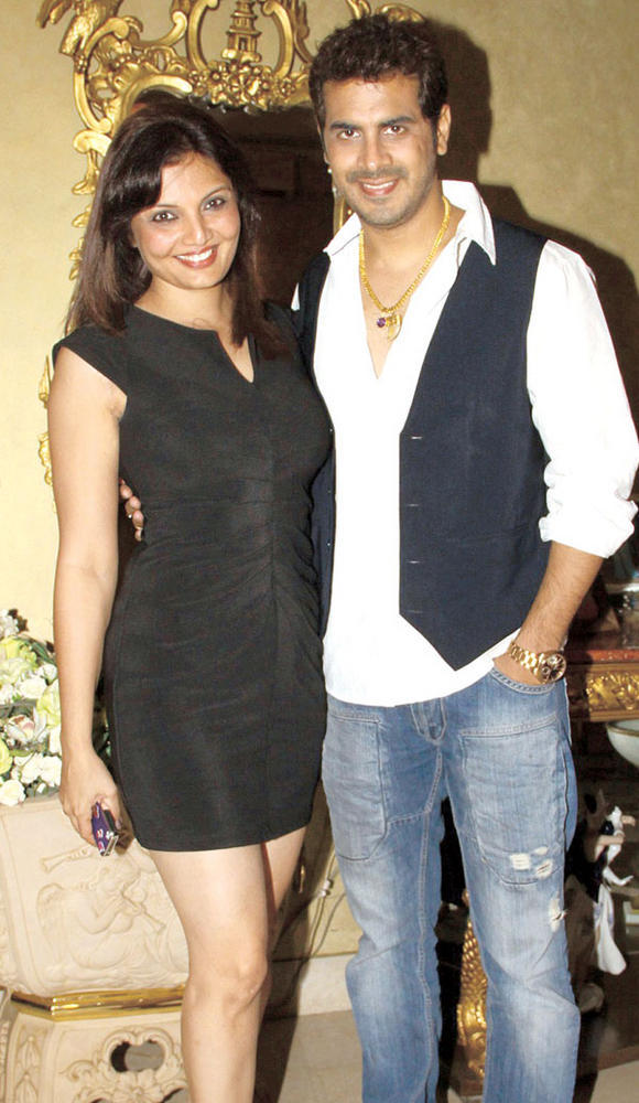 Deepshikha and Keshav Arora Spotted at Mika Singh Birthday Party
