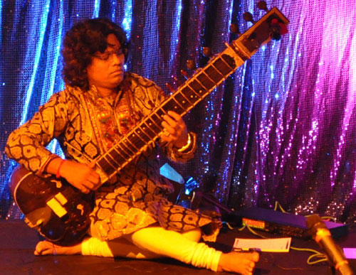 Pandit Ravi Chary at Broadway and Beyond Event