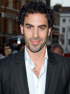 Sacha Baron Cohen Sweet Smile Pic