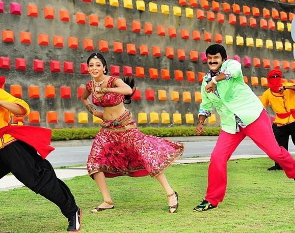 Balakrishna and Parvathi Dancing Pic