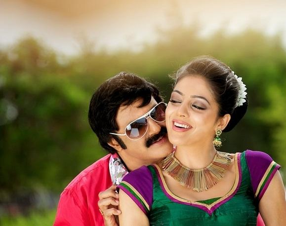 Balakrishna and Parvathi Sexy Pic In Srimannarayana