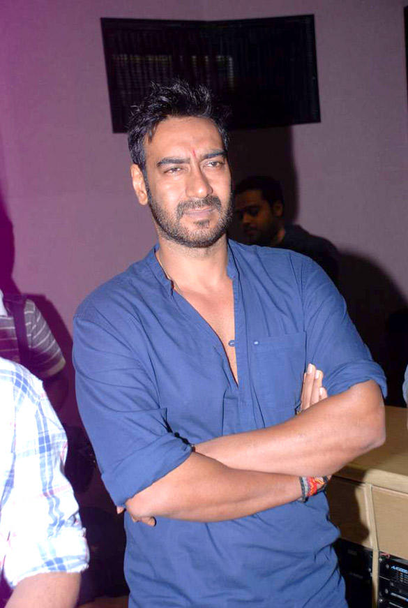 Ajay Devgn at Himmatwala Songs Recording Event