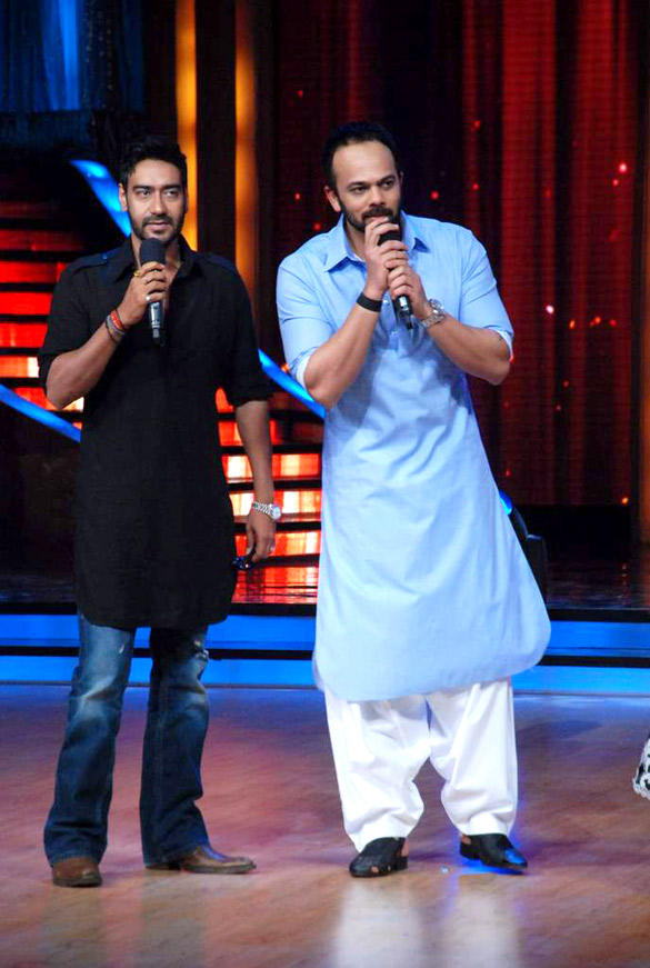 Rohit and Ajay Promote Bol Bachchan On The Sets Of Jhalak Dikhhla Jaa 5