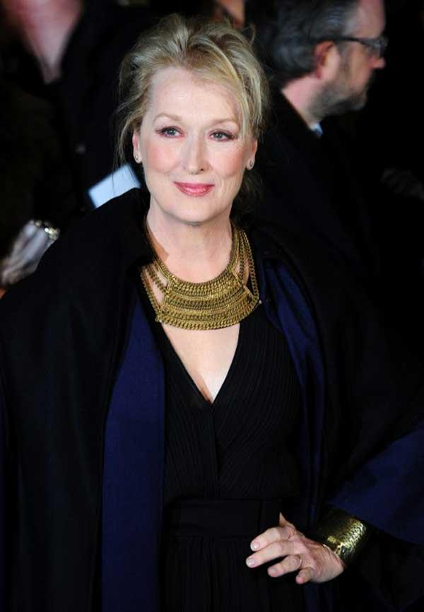 The Iron Lady Star Meryl Streep was on the 8th Position with Earnings of $12 Million