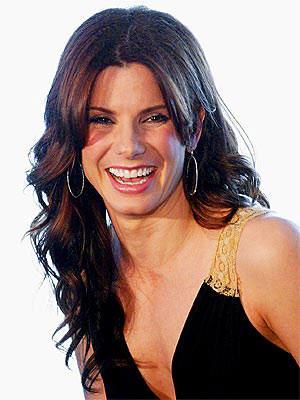 Sandra Bullock Cute Smiling Face Still