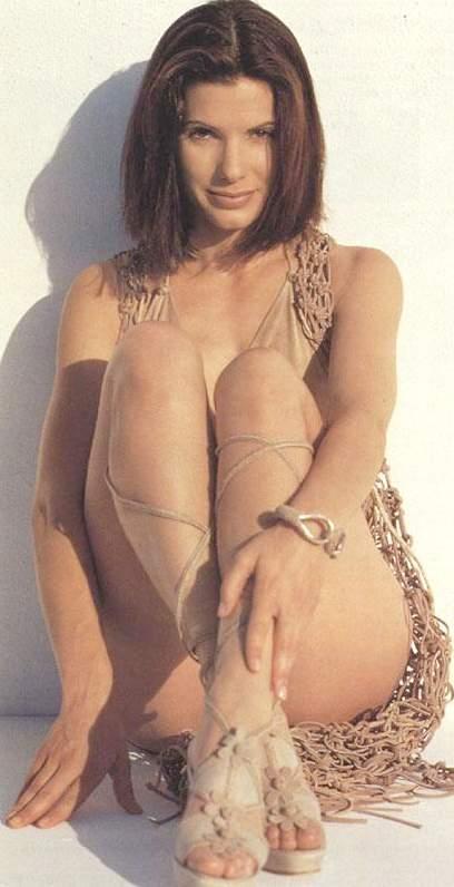 Sandra Bullock Latest Sexy Pose Photo Shoot