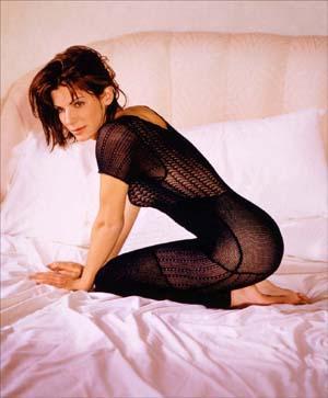 Sandra Bullock Spicy Pose Photo Shoot