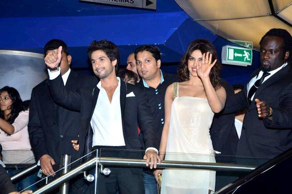 Casts at Teri Meri Kahaani Premiere In Dubai