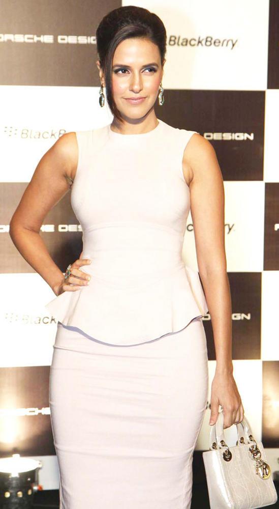 Gorgeous Neha Dhupia at Blackberry Porsche Design p9981 Launch Event
