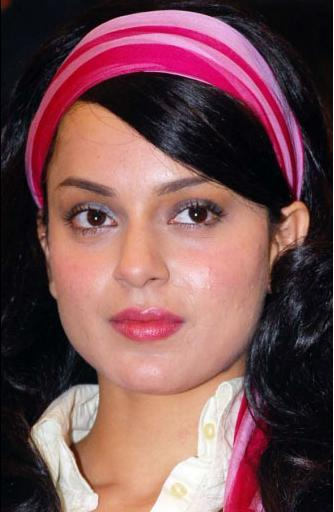 Kangana Ranaut Shiny Beauty Face Still