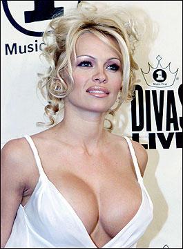 Pamela Anderson Open Boob Sexy Still
