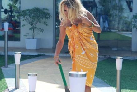 Pamela Anderson Sexy Still In Bigg Boss
