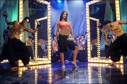 Sexy Actress Katrina Kaif Item Song Dance Still