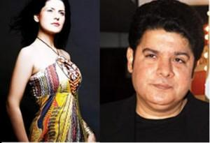 Sajid Khan and Jacqueline Fernandez Phote