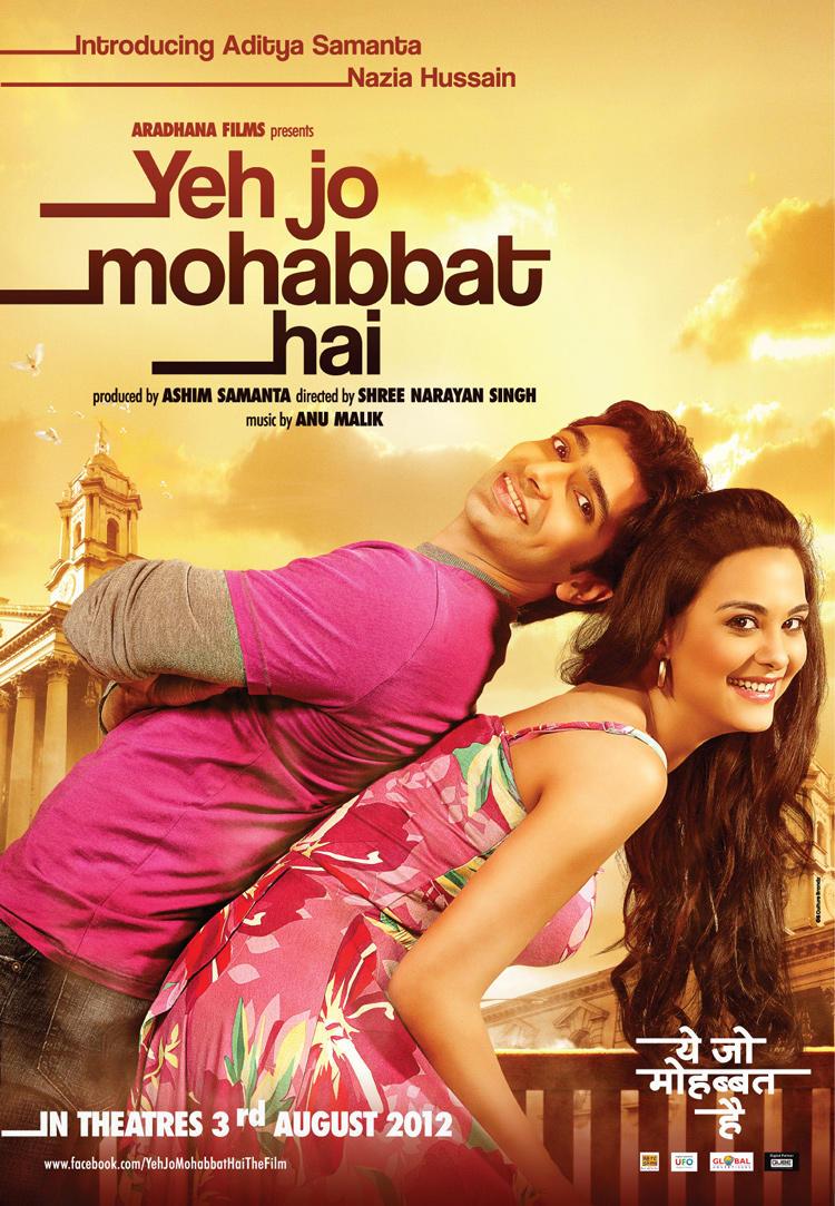 Indian movie mohabbat / Zadelpijn en ander damesleed cast