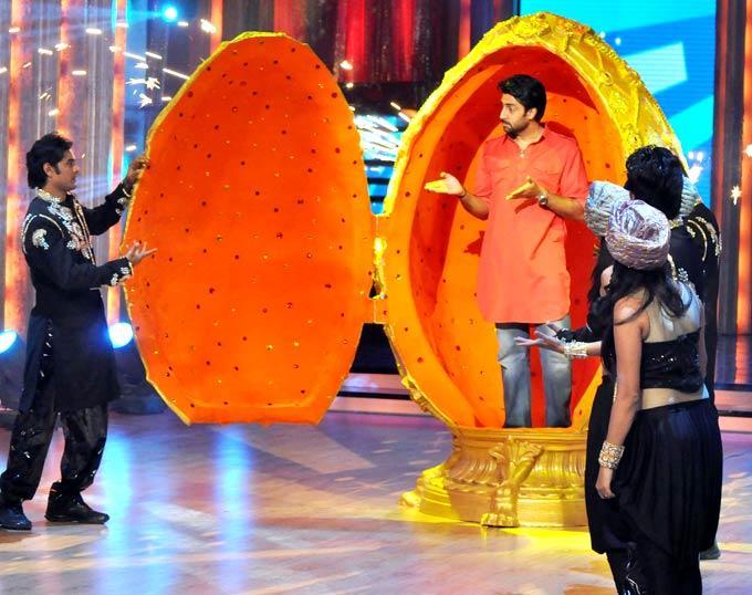 Abhishek Get Dancing at Jhalak Dikhla Jaa Season 5