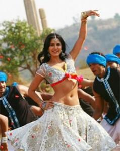 Katrina Kaif Sexy Navel Still In Choli