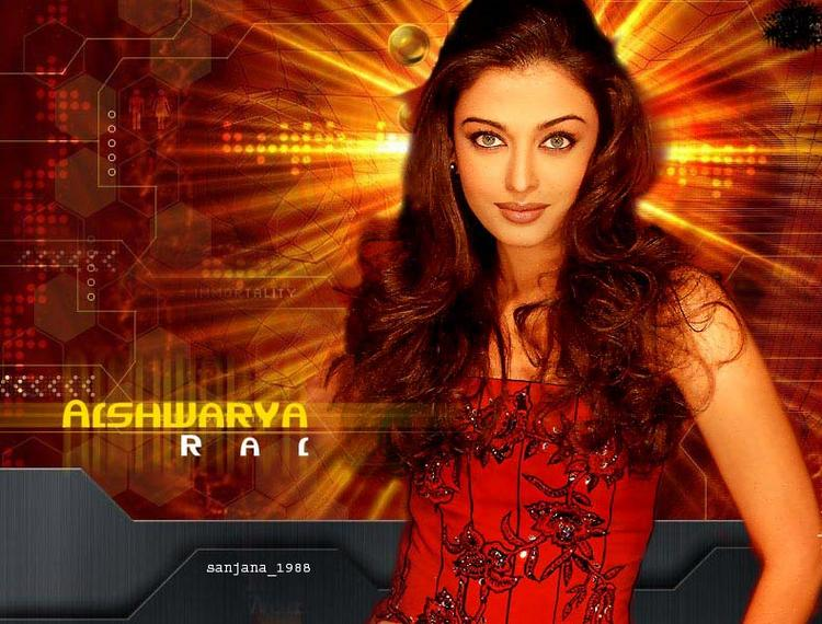 Aishwarya Rai Bachchan Hot Look Wallpaper