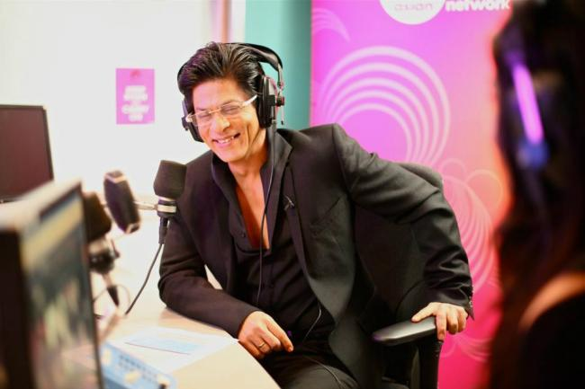 Shahrukh on The Shah Rukh Khan Show for BBC Asian Network