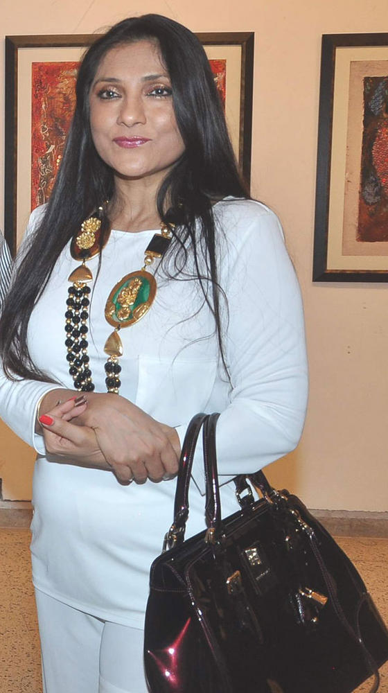 Arti Surendranath at an Art Event