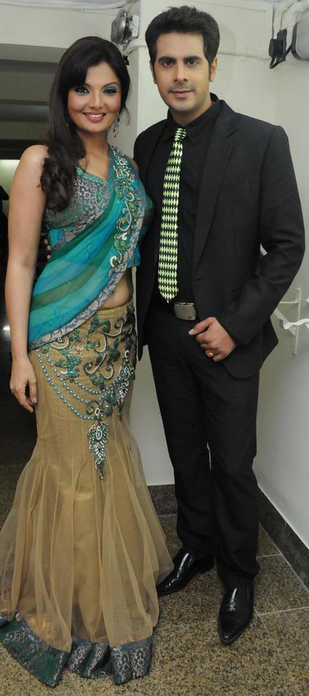 Deepshikha with hubby Kaishav To Save Girl Child Show