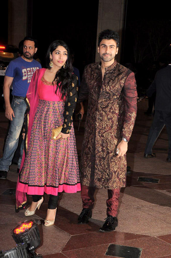 Arya Babbar at Esha Deol Sangeet Ceremony