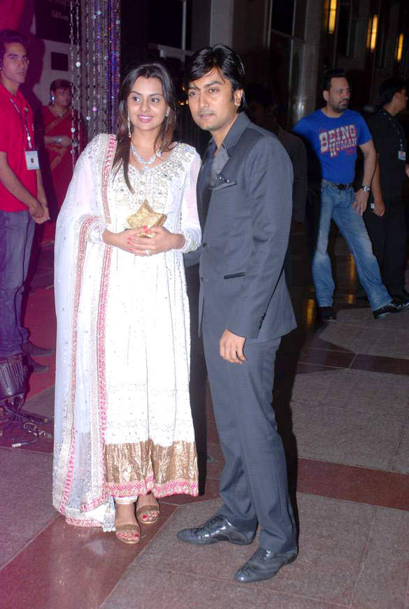 Dheeraj and Honey Spotted at Esha Deol Sangeet Ceremony
