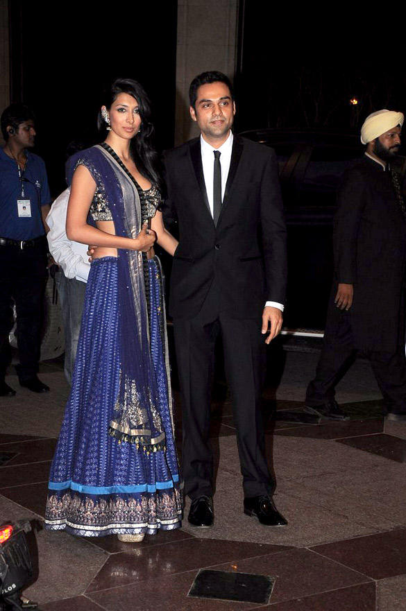 Preeti Desai and Abhay Attend Esha Deol Sangeet Ceremony