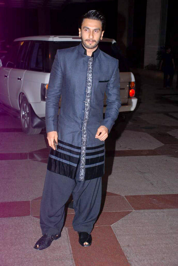 Ranveer Singh Still During Esha Deol Sangeet Ceremony