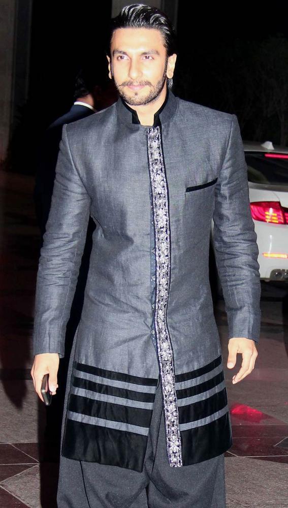 Ranveer Singh Stylist Look at Esha Deol Sangeet Ceremony