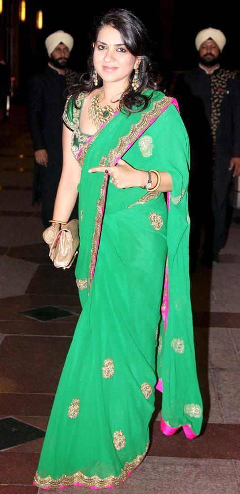 Shaina NC at Esha Deol Sangeet Ceremony