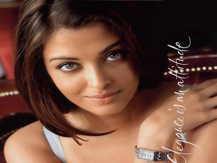 Aishwarya Rai Spicy Look Watch Ad Pic