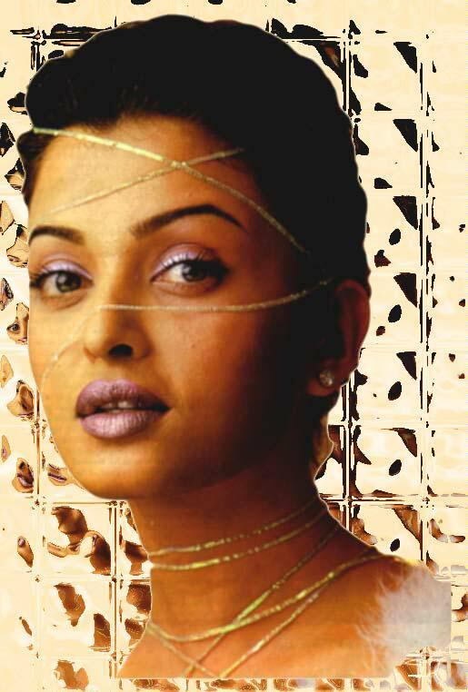 Aishwarya Rai Wet Face Look Wallpaper