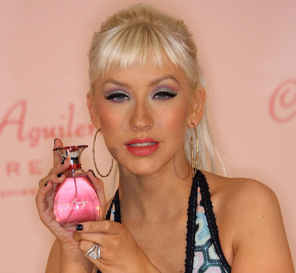 Christina Aguilera Perfume Launch