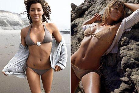 Jessica Biel Bikini Hot Sexy Photo