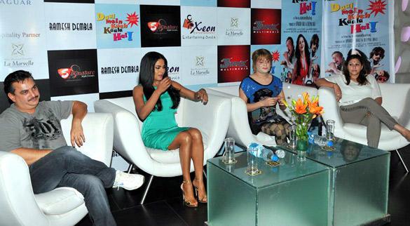 Veena and Bobby Promote Daal Mein Kuch Kaala Hai