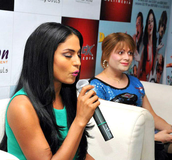 Veena and Bobby at The Promotional Event of Daal Mein Kuch Kaala Hai