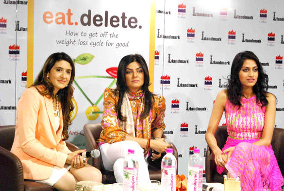 Himangini and Sushmita Unveils Pooja Makhija Book Launch Eat Delete