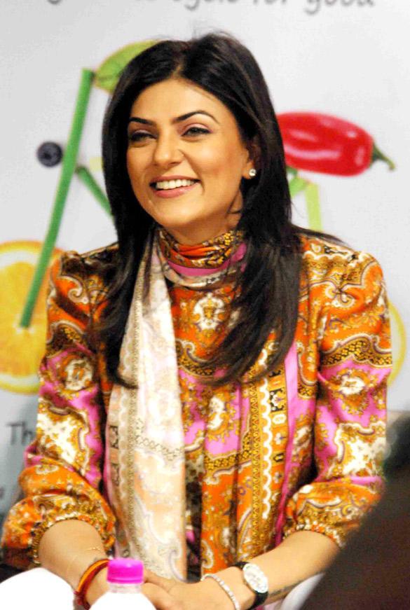 Sushmita Sen Unveils Pooja Makhija's Book Launch Eat Delete