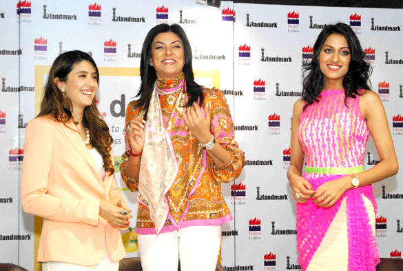 Sushmita,Himangini and Pooja at The Book Launch Of Eat Dele