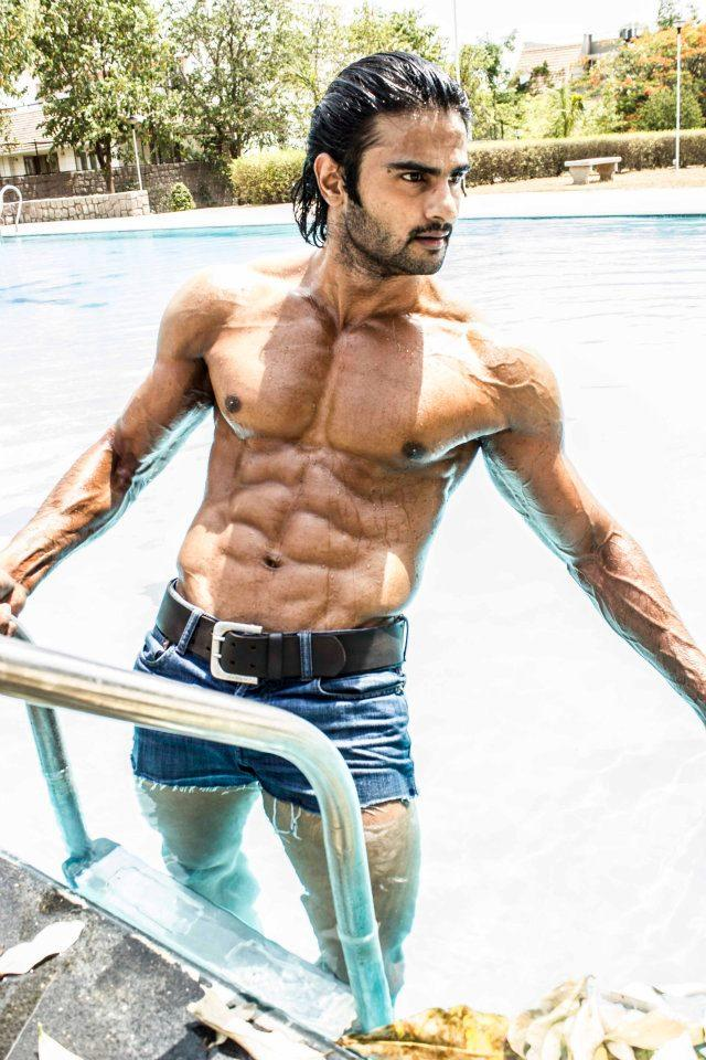 Sudheer Babu Sexy Six Pack Still