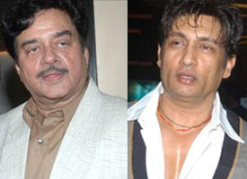 Shatrughan Sinha and Shekhar Suman Look