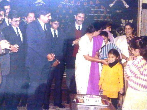 Anushka Sharma Childhood Birthday Party Photo