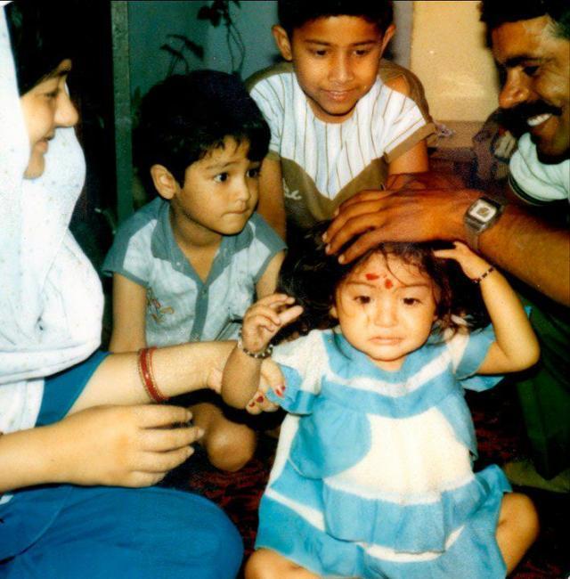 Anushka Sharma's Childhood Cutest Still