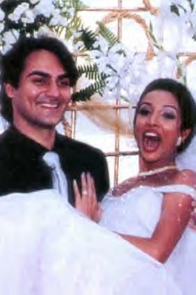 Arbaaz and Malaika wedding Pic In Christian Style