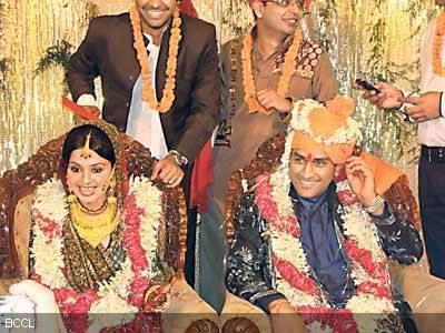 Dhoni and Sakshi Wedding Latest Still