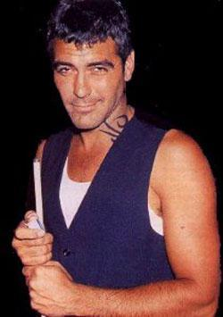 George Clooney Cute Sexy Face Look Still