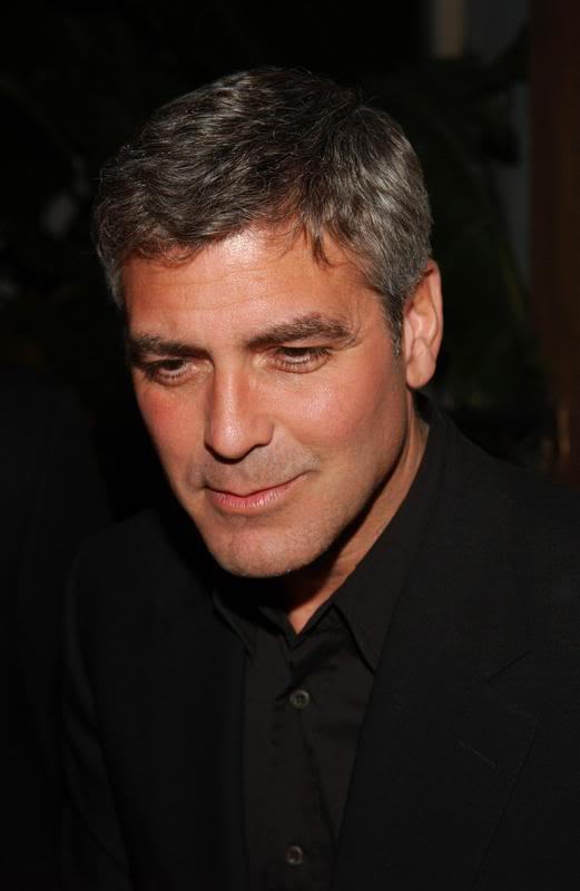 George Clooney Sweet Close Up Pic