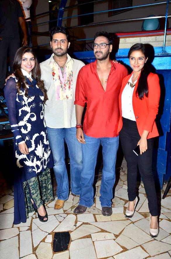 Bol Bachchan Team Promote Their Movie On The Sets Of Taarak Mehta Ka Ooltah Chashmah