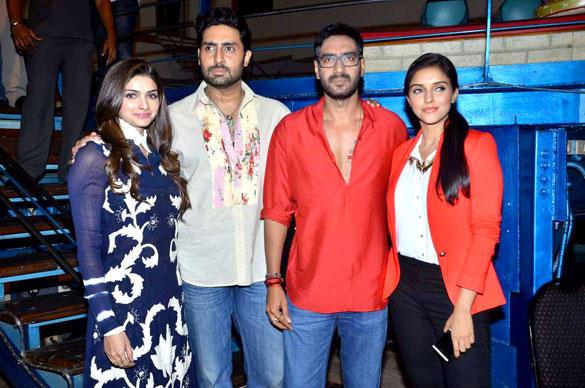 Casts at Taarak Mehta Ka Ooltah Chashmah To Promote Bol Bachchan